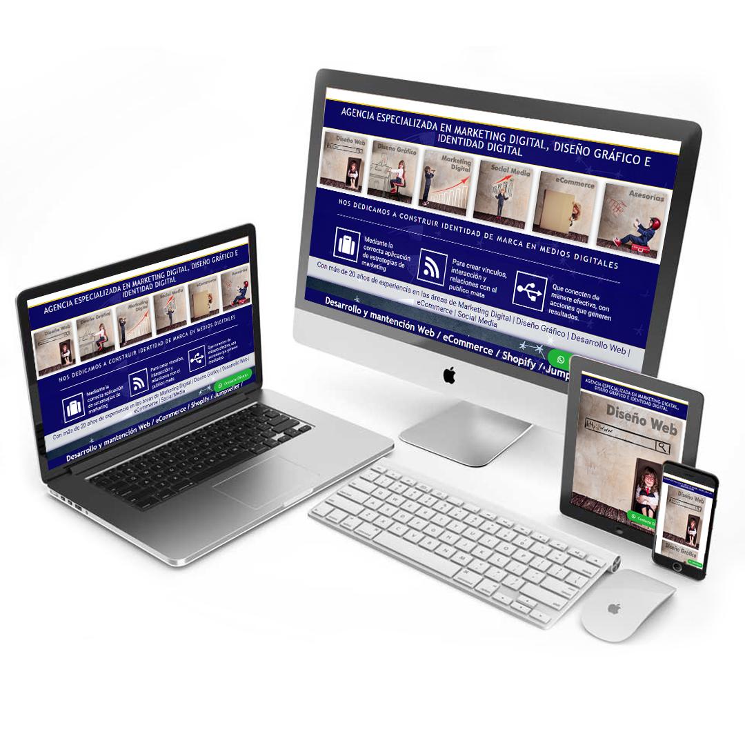 AGENCIA DIGITAL ESPECIALIZADA EN Diseño Gráfico | Diseño Web | Social Media | Redes Sociales